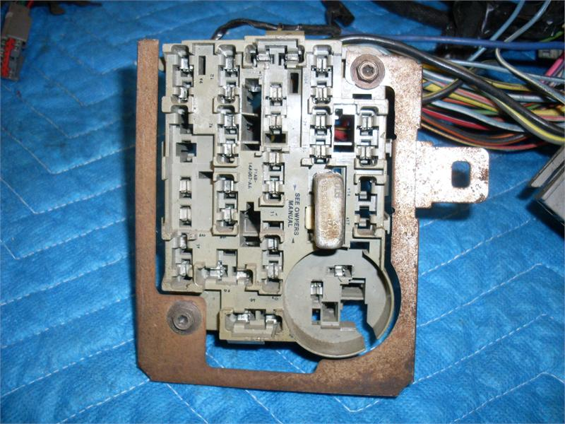 Ford Mustang Fuse Box Panel Diagram Ford Tfi Module Wiring Diagram